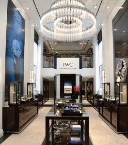 BEVERLY HILLS, CA - DECEMBER 01:  A general view of the atmosphere during IWC Schaffhausen Rodeo Drive Flagship Boutique Opening on December 1, 2015 in Beverly Hills, California.  (Photo by Chris Weeks/Getty Images for IWC Schaffhausen)